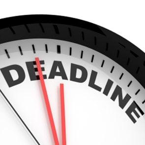 AODA deadlines